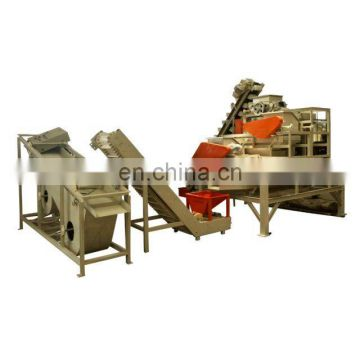 best selling almond shelling breaking machine