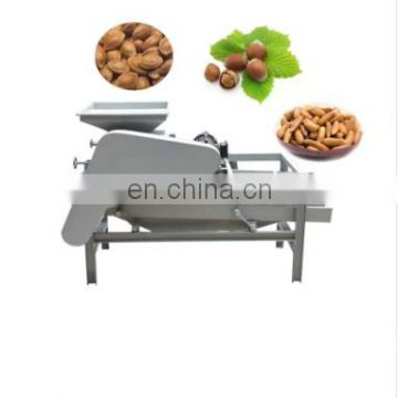 High working efficiency and favorable price walnut shelling machine almond walnut hard shell removing separating machine