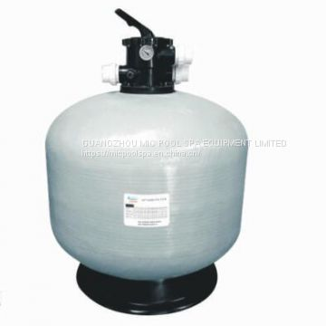 Swimming pool water filtration and circulation system Swimming pool sand filter