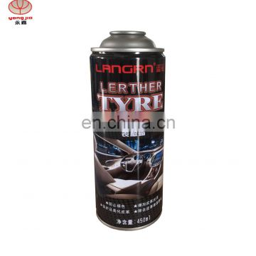 Wholesale refillable aerosol spray paint can with dashboard polish can for car care