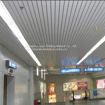 Paint Outdoor Aluminum Buckle Ceiling High-speed Rail