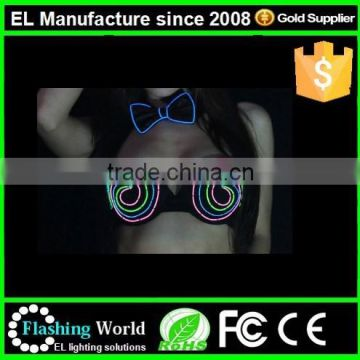 led bra for evening party or performance,light up bra,luminous sexy belly dance wear,stripper wear,night club,celebrity fashion
