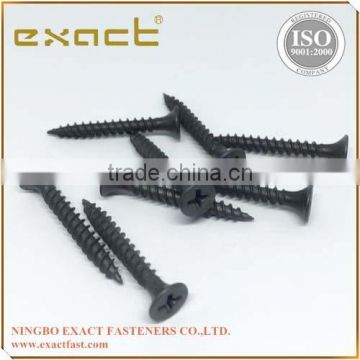 Drywall Screws Bugle Head Phillips Fine Thread Black Phosphated self tapping screw