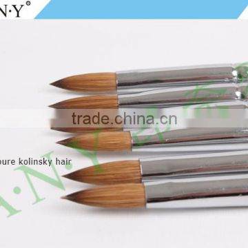 ANY 100% Pure Kolinsky Hair Acrylic Nail Brush Kolinsky Sable Brushes For Nail Beauty Design