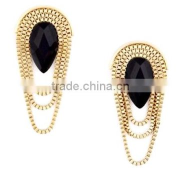 New fashion earring with acrylic diamond
