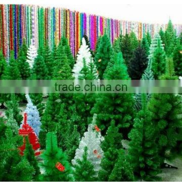 artificial tree manufacture artificial xmas tree with Chrismas LED light