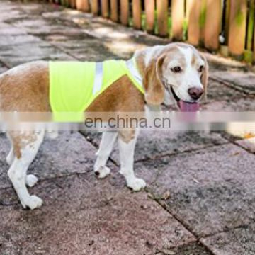 Protect hi vis pets vest with Adjustable Strap for safety