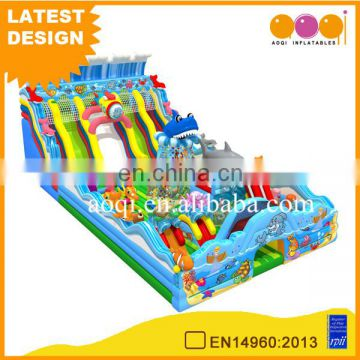 China suppliers inflatable products manufacturer giant ocean fun city inflatable playground children inflatable playland