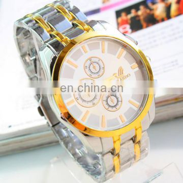 Cheap Fashion quartz mens watch brand stainless steel watch High quality