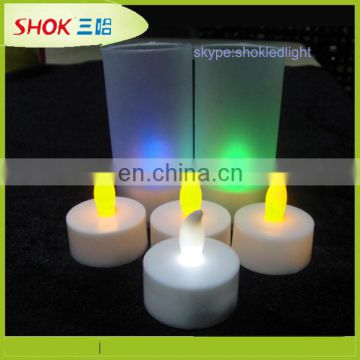 Most selling product colorful electronic LED candle with CE