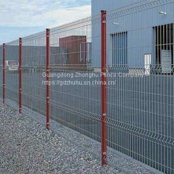 Hot sale 2000 x 2500mm PVC coated galvanized welded wire mesh fence 8 gauge
