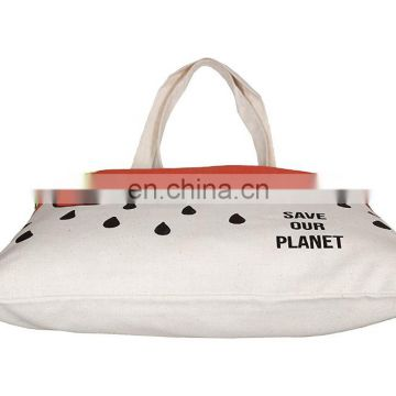 Thin and easy to carry Re-usable Comfortable Cotton Canvas Tote Bag