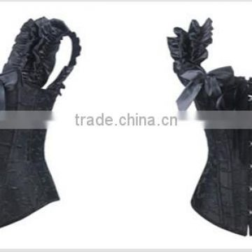 wholesale Sexy Womens Lace up Halter Corset Bustier Top Waist Training Cincher Body Shaper