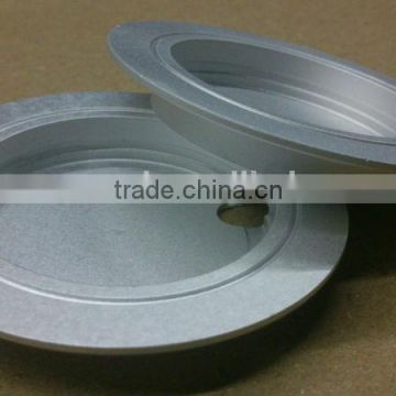 Machining Anodized Aluminium Extrusion Profile Round Plate