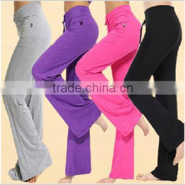 Wholesale breathable spandex women's yoga pants/sports pants/fitness sport wear                                                                         Quality Choice