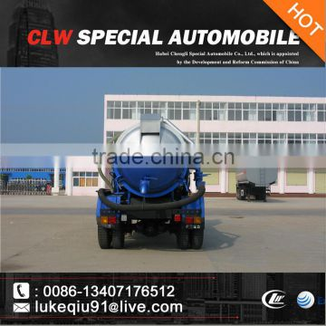 2000-3000 gallons dongfeng vacumble septic pump vehicle for sales