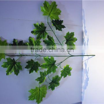 Home and outdoor garden table wedding christmas decoration 60cm or 2ft Height artificial colorfully maple leaf E06 0609