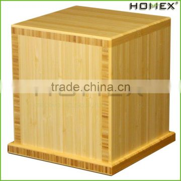 Bamboo cremation urns and boxes Homex BSCI/Factory