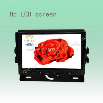 latest reversing camera system with 7inch digital LCD monitor, rear view camera, ideal for truck, bus, van, lorry, etc.