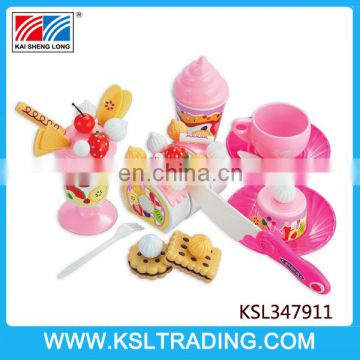 Nice design pudding dessert play toy set for kids