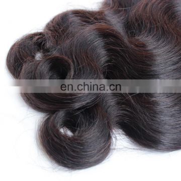 Natural body wave peruvian human virgin unprocessed hair bundles