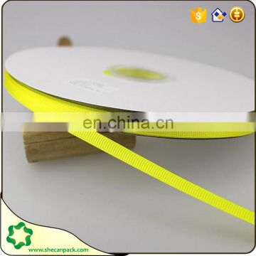 SHECAN Bulk sell Size 1/4 inch 6mm grosgrain ribbon light ivory
