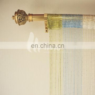 Multi color fashion hanging sliver kitchen door curtain