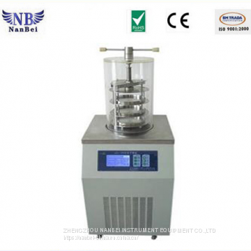Vertical Type Laboratory Food Freeze Drying Machine of lab