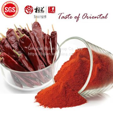 steam sterilized paprika powder 140asta