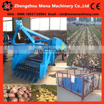 Africa market popular smooth operation potato or tapioca harvesting machine/tapioca harvester tool with technology support