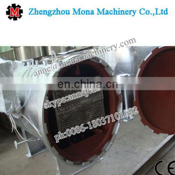 Horizontal delicate fish and sea-food sterilization retort machine