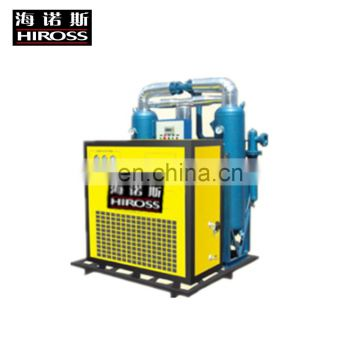 Low dew point durable  micro-heated regenerative desiccant air dryer