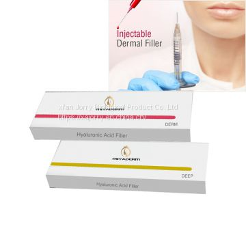 CE approved wholesale price 1ml 2ml Hyaluronic Acid dermal filler fine line/derm/deep line for face beauty Sculptra
