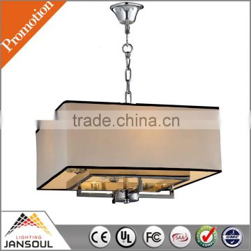 chrome american design custom pendant light