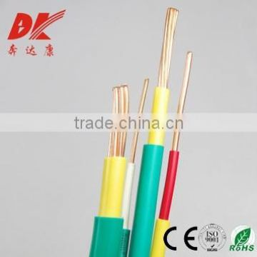 copper conductor pvc insulated electric wire pvc insulated computer cable pvc insulated electric wire/cable