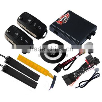 PKE keyless entry start PKE push button engine start stop system for Volkswagen Skoda Octavia Golf 7 Lamando