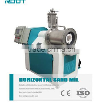 Ceramic material for ceramic ink horizontal sand mill