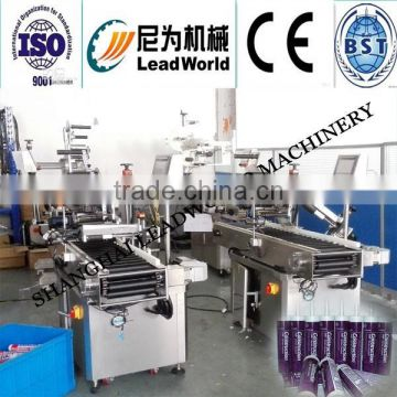 injection bottle adhensive labeling machine