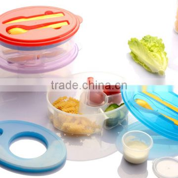 HOT oval plastic food storage container set with ice pack dressing/Food grade plastic lunch ...  sc 1 st  find quality and cheap products on China.cn & HOT oval plastic food storage container set with ice pack dressing ...