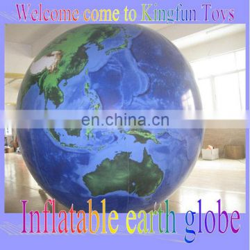 Education inflatable helium earth ball
