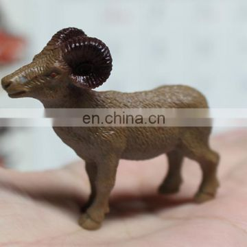 11 kinds mini plastic sheep model toy with plastic kangaroo model