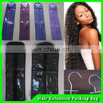 hair extension plastic packaging bag/paper gifts packaging bag/stand up pout pouch for packaing hair care products