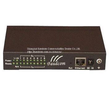 8 channel RS232 Serial to Ethernet Converter Console server