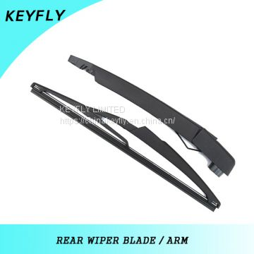 DACIA SANDERO II 2012 300mmCar Windshield Wiper Blades , Teflon Coating Rubber Wiper Blade Arm,Black,High Level