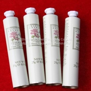 Empty Aluminum Cosmetic Lipstick Packaging Tube