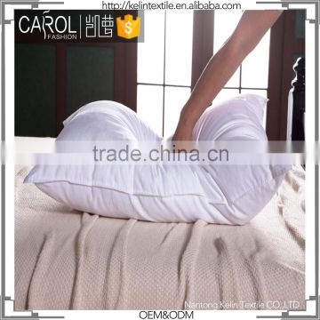 Carol top quality soft 230T fabric feather pillow inner