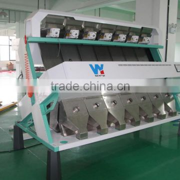 Best selling 7 chutes plastic flakes Color Sorting Machine