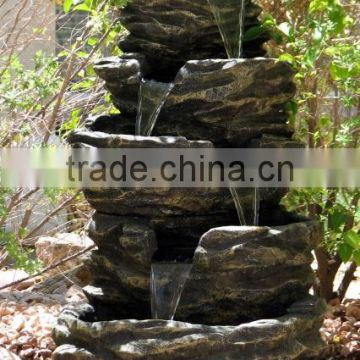 Granite Rock Waterfall Fountain (YX-F08)