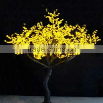 factory high quality yellow led tree decor led tree light outdoor led tree lights