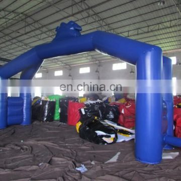 Big advertising inflatable garden arch gate inflatable outdoor entrance arch designs